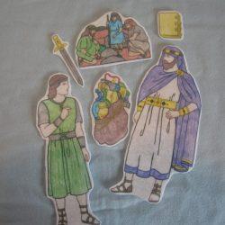 Homemade Flannel Figures