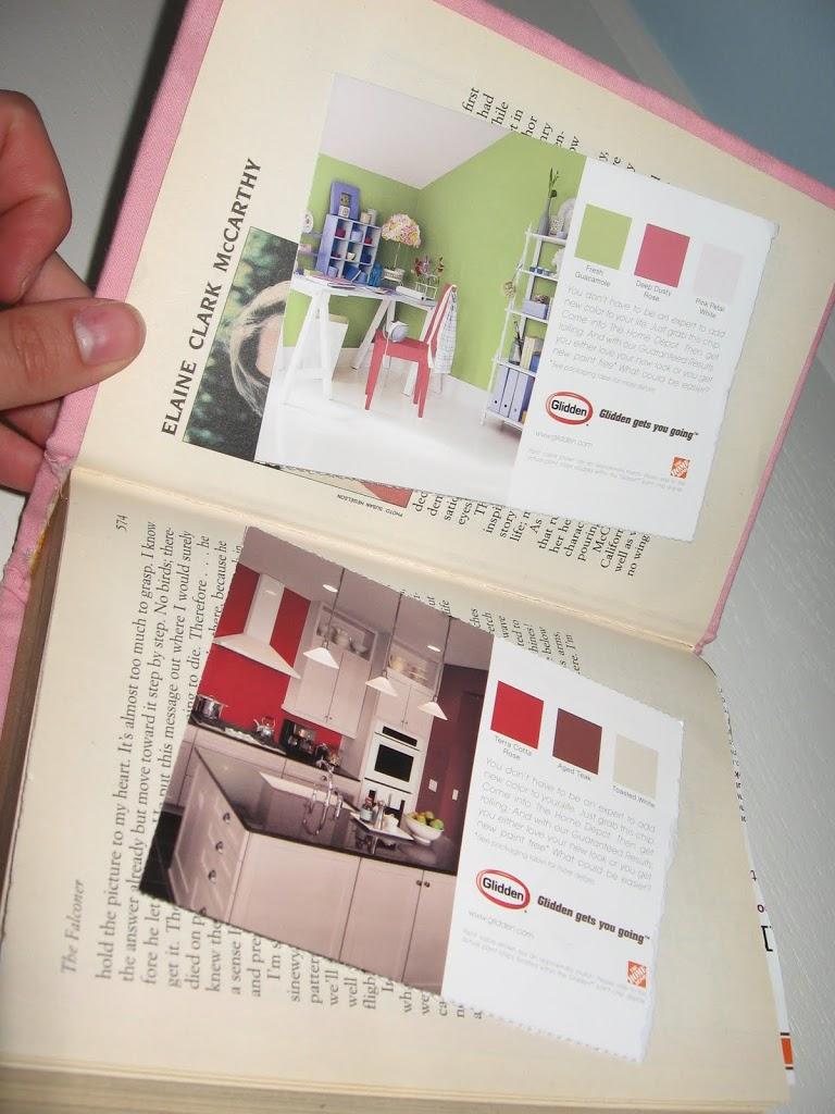 Book Cover Craft Room : Fabric covered idea storage book tutorial tidbits