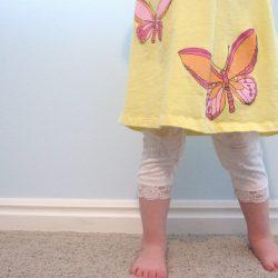 Lace Bottom Leggings #2