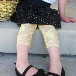 Stretch Lace Leggings