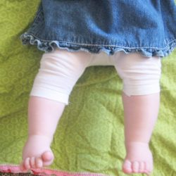 Ruched Leggings for Baby