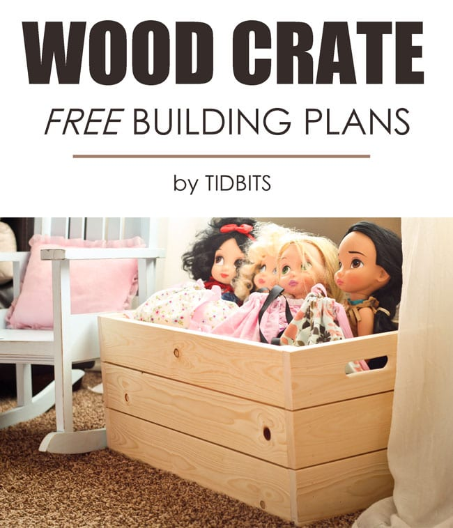Free building plans for wood crates.