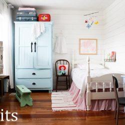 Cottage Fresh Girls Bedroom