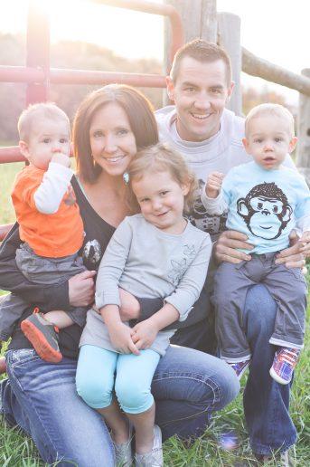 Taking Family Photo's