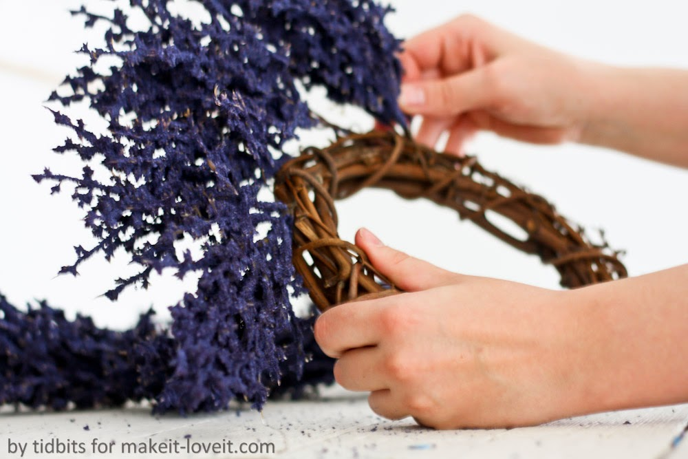 Diy 5 minute wreath