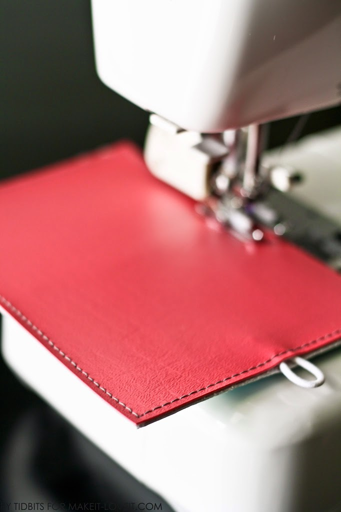 Book Cover Sewing Vinyl ~ Mini books for card collections or photos business cards