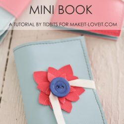 Card Collectors Mini Book Tutorial