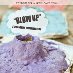 Volcano Fun for Kids | Sensory, Craft, and Science Activity