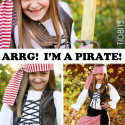 Pirate Costume for a Girl