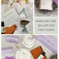 Bath Salt Soak in a Tea Bag | Party Favor for Guests