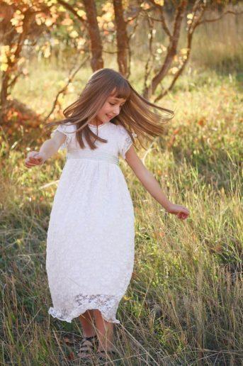Baptism Dress Photo Shoot