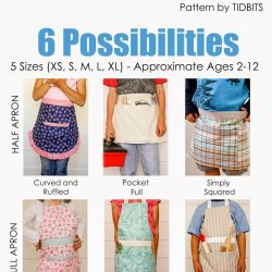 Child's Apron Pattern – available for PDF download!