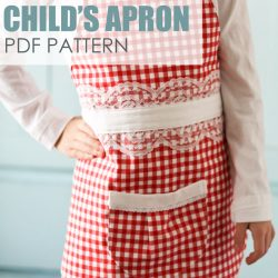 Farmhouse Apron {PDF Pattern Download}