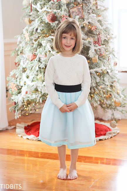 29c1873682 So read on, and I will show you how to make the tulle skirt with a wide  elastic waistband, version #2!
