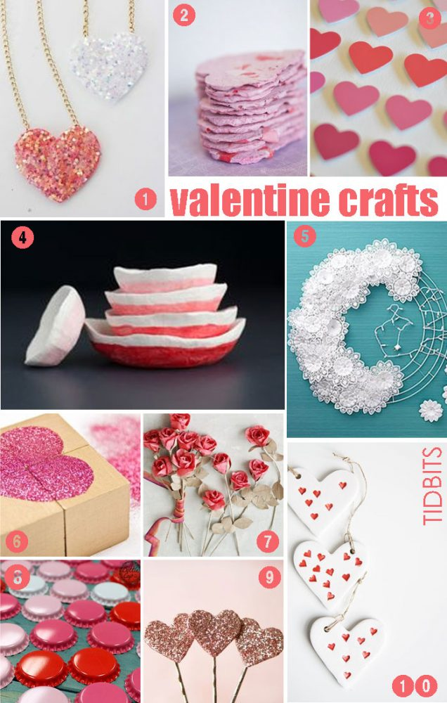 Valentine Crafts, Mood Board