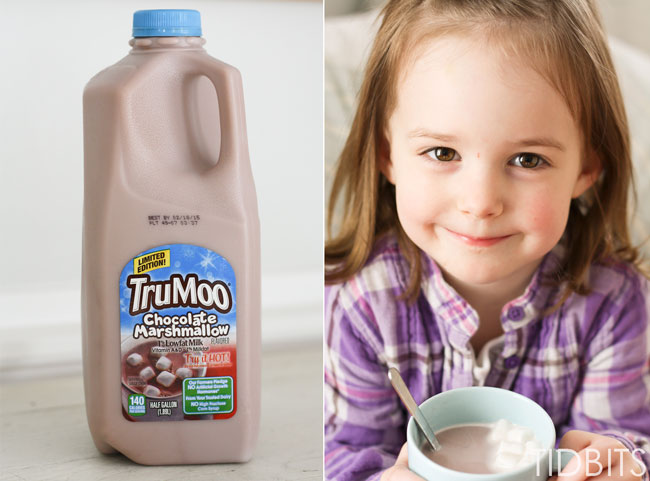 TRUMOO, chocolate marshmallow milk