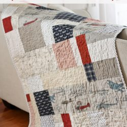 The Lazy Quilters Quilt – No Measuring Required!