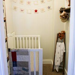Turning a Closet into a Nursery