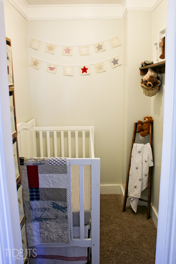 Turning A Closet Into A Nursery - Tidbits