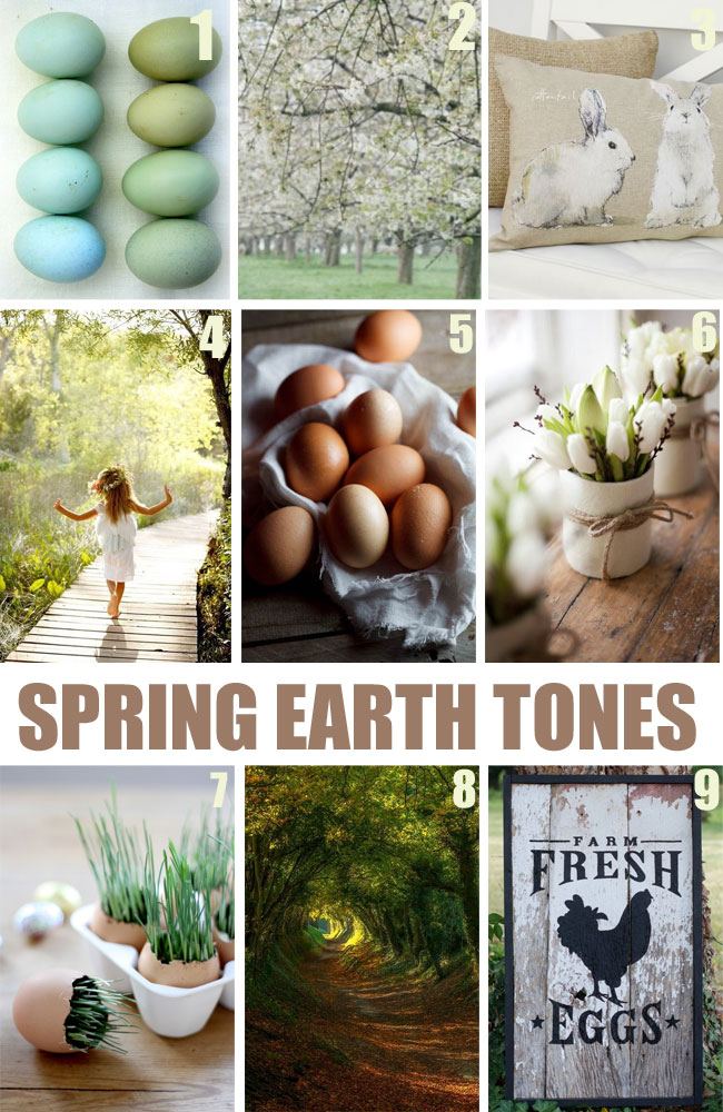 Spring Earth Tones