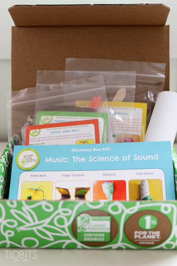 Green Kid Crafts Review - Subscription Box for Kids - Tidbits
