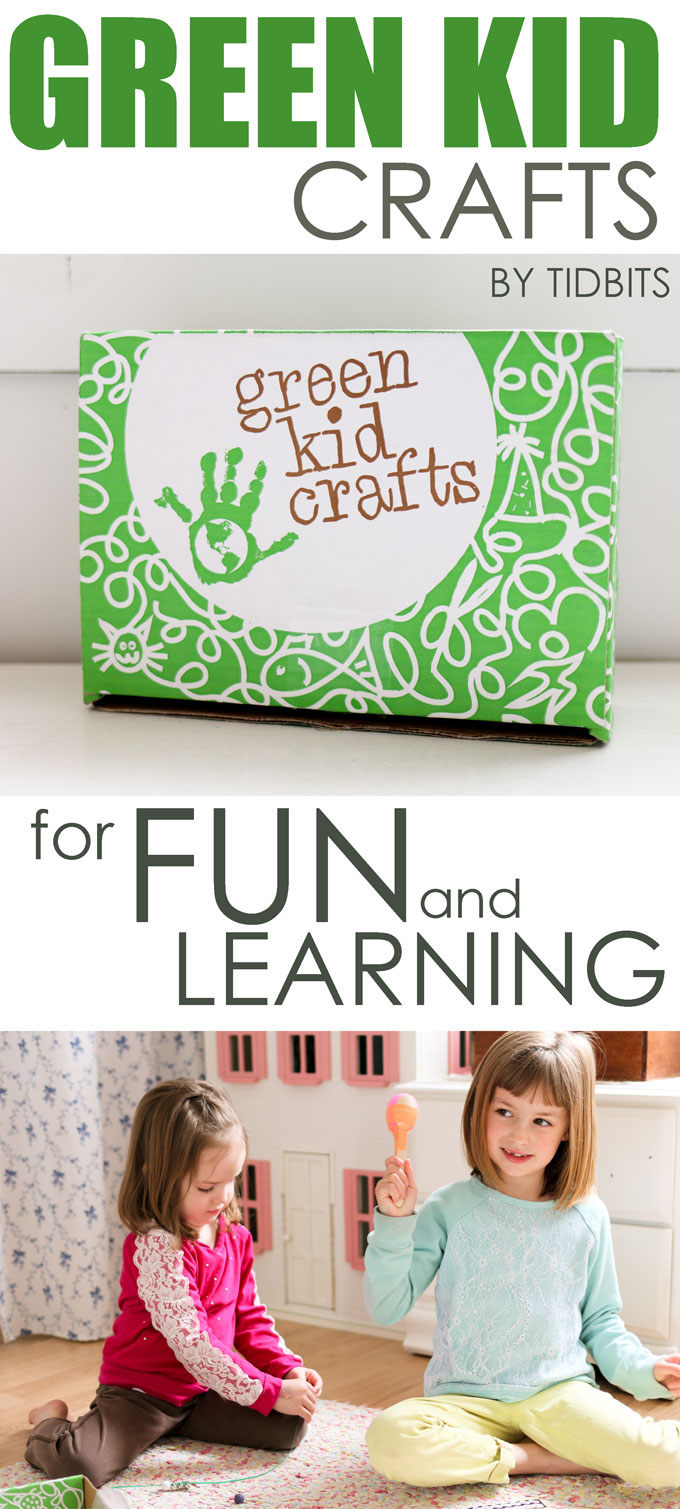 Green Kid Crafts review, subscription box