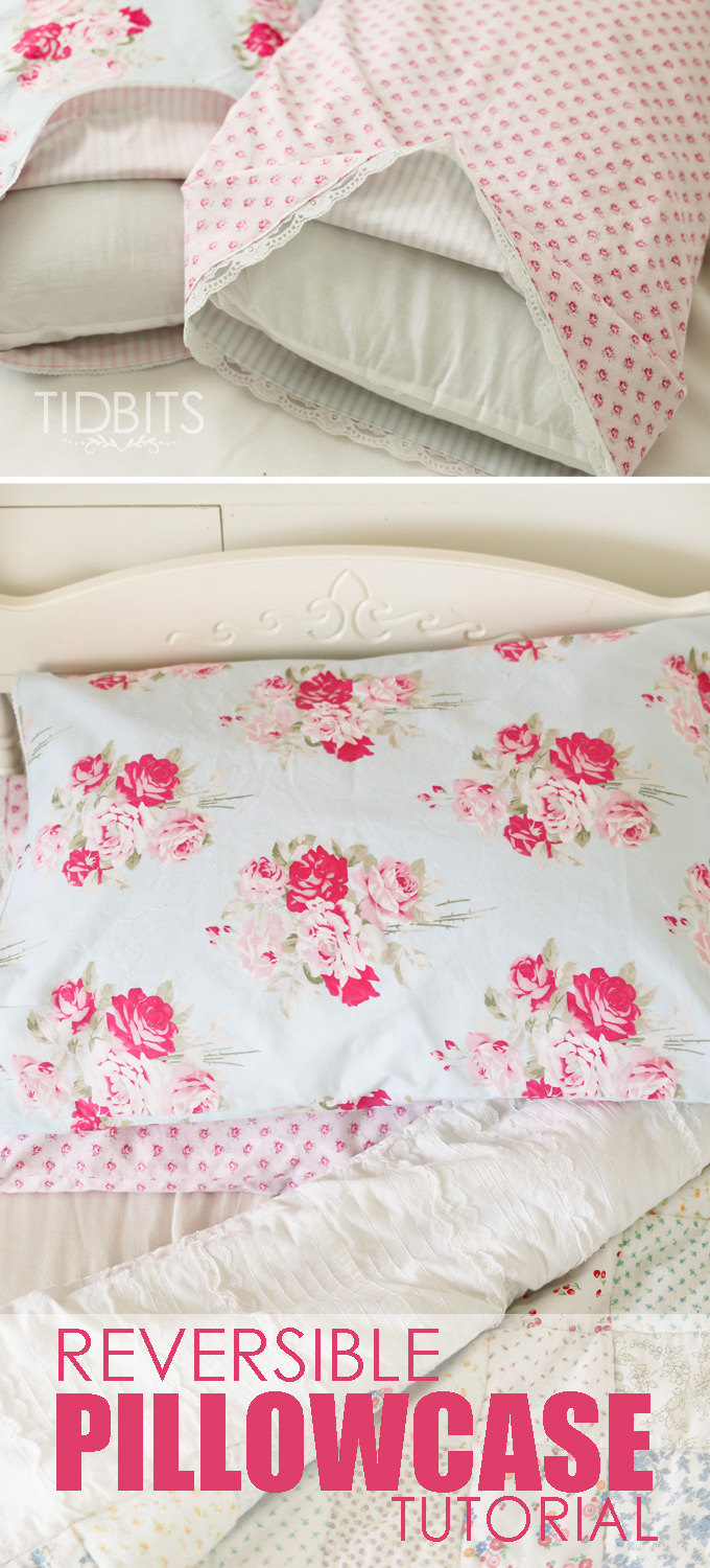 Reversible Pillowcase Tutorial