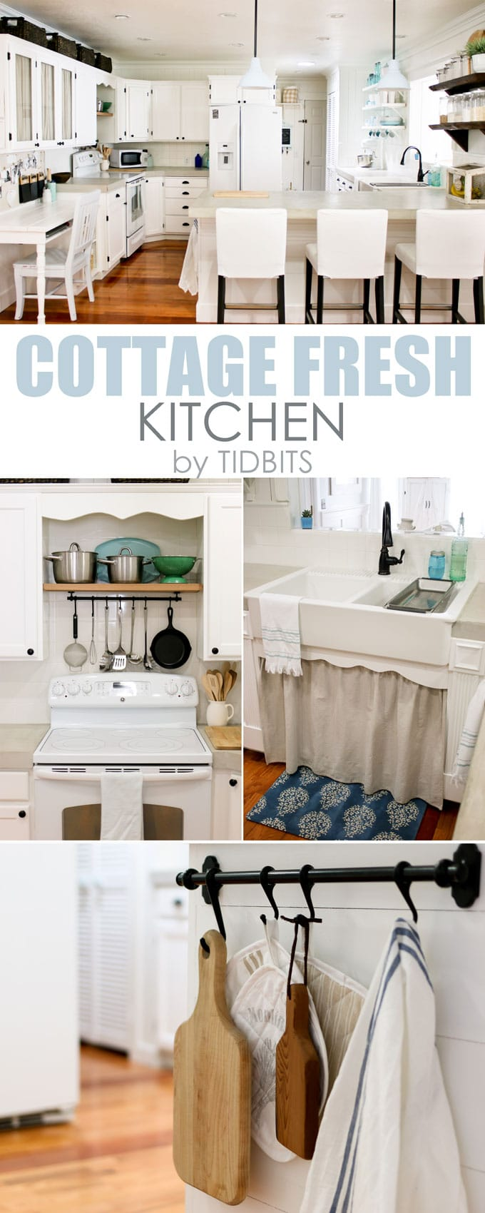 Cottage Fresh Kitchen, by Tidbits