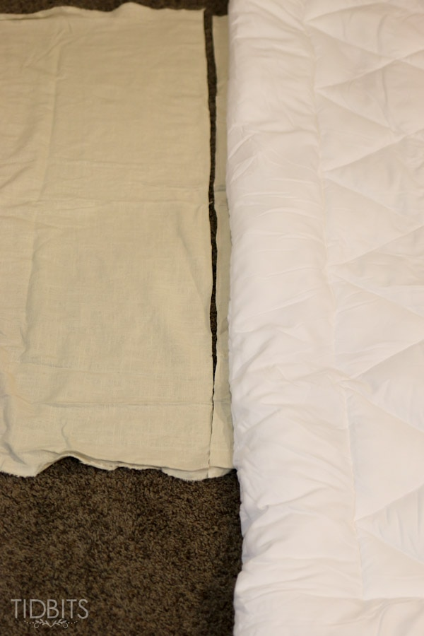 Duvet Cover Tutorial