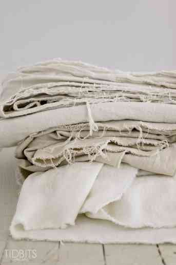 How to bleach a drop cloth