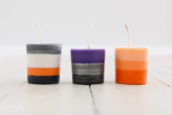 Easy Halloween Candle Making for kids (and Moms!) - with the Doodle Crate.