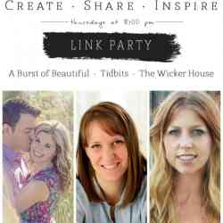 Create · Share · Inspire Link Party