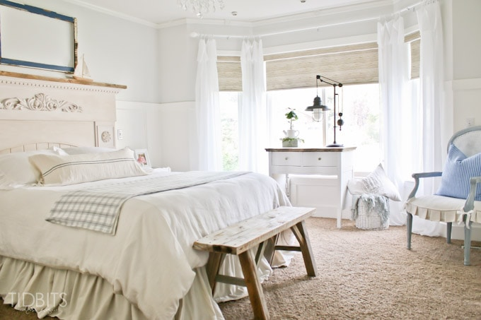 A Serene Master Bedroom Makeover Full Of Diy S Thrifted Treasures And Beautiful Decor