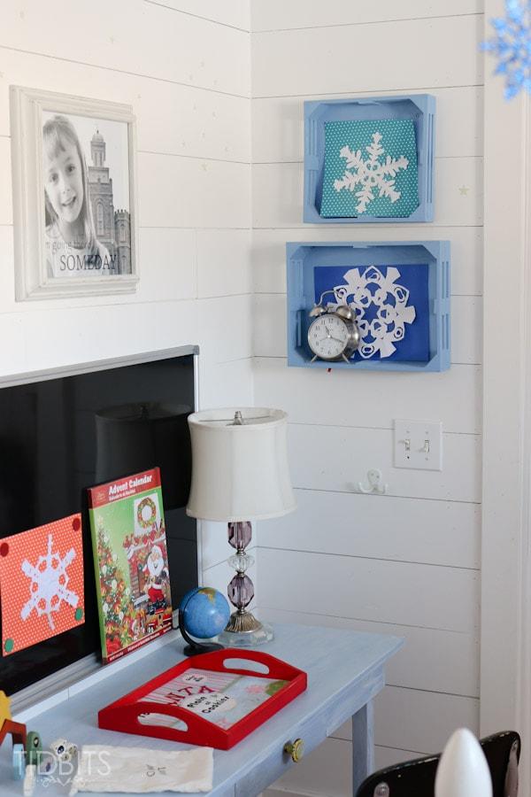 Cottage Christmas Girls Room-6