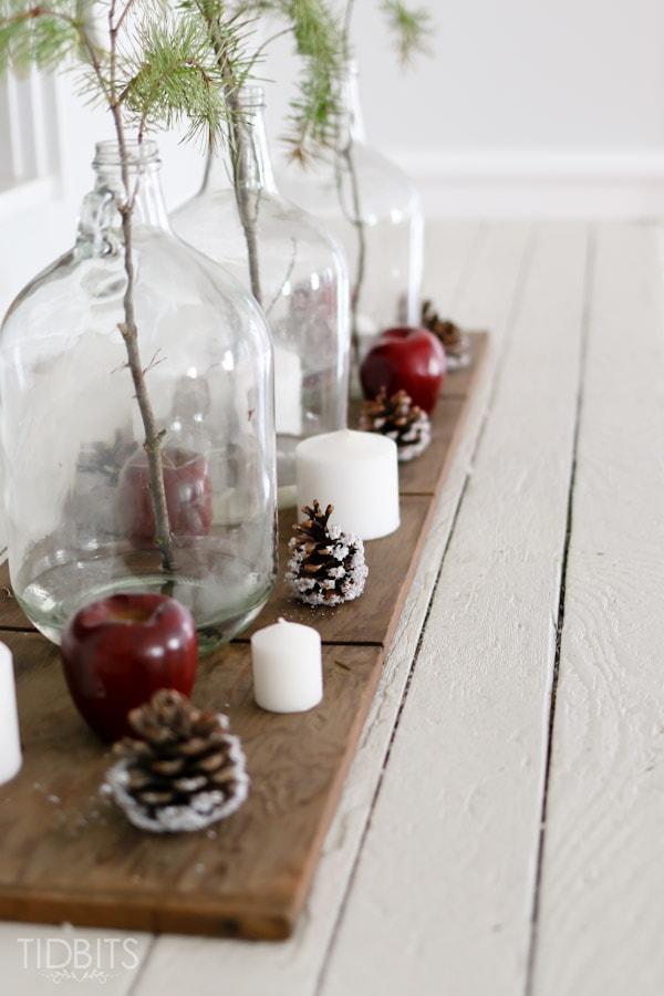 Cottage Christmas Living Room-4