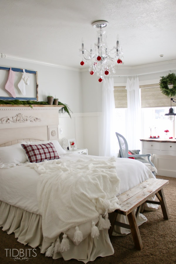 Cottage Christmas Master Bedroom-22