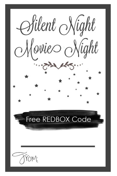 picture about Printable Redbox Gift Cards called REDBOX Neighbor Present - No cost Printable - Tidbits