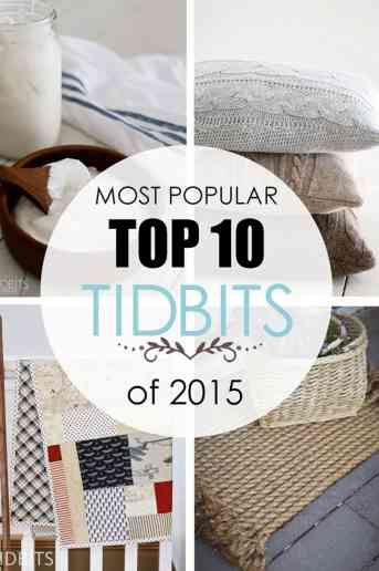 Most Popular Top 10 TIDBITS of 2015