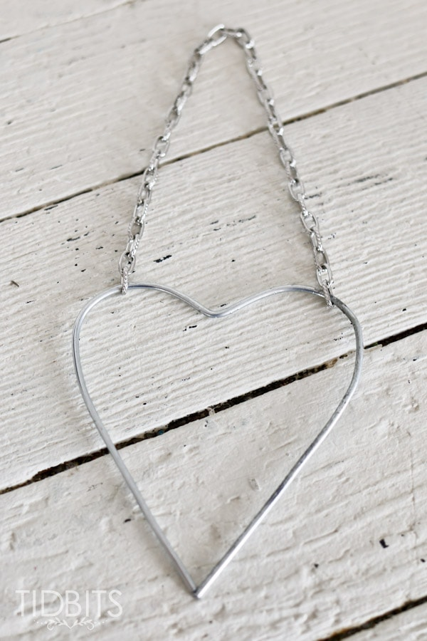 DIY Button Heart - Hang in your home or use as a lovely keepsake.