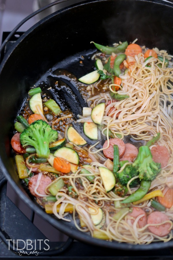 Do-it-yourself Mongolian Grill. Perfect for grill season and entertaining guests.