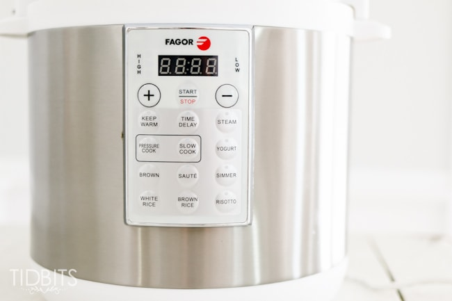 Fagor Lux electric multi-cooker.