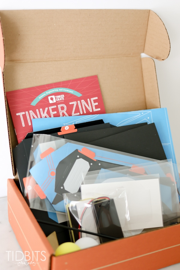 One on one time made possible with the Tinker Crate.