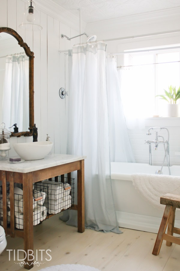 Master Bathroom Before and After tour.