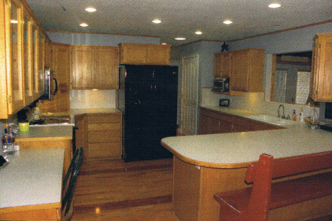 Cottage Kitchen before and after makeover tour.