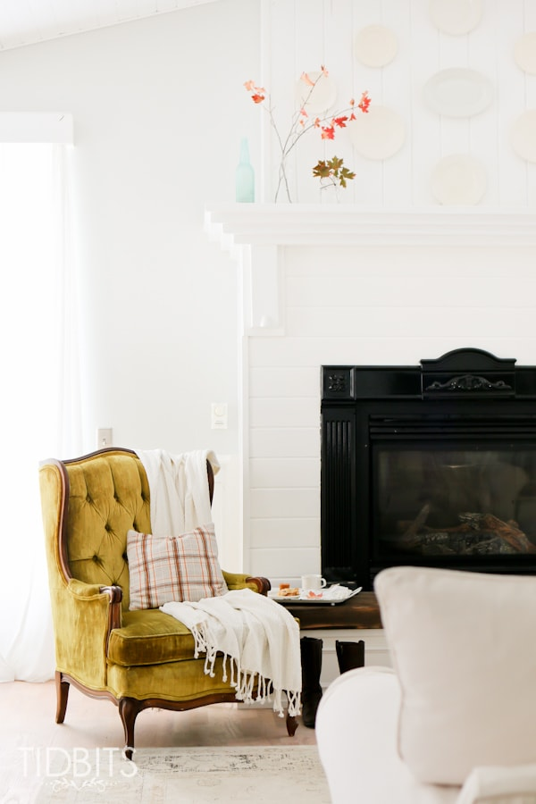 Fall Home Tour In The Living Room Tidbits