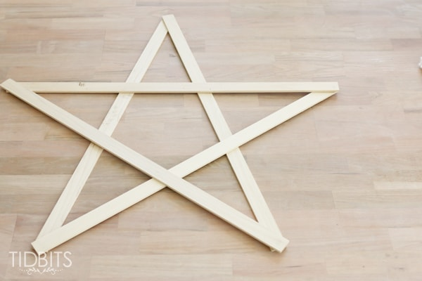 Large Stick Star Tutorial