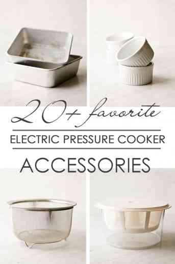 Electric Pressure Cooker Accessories