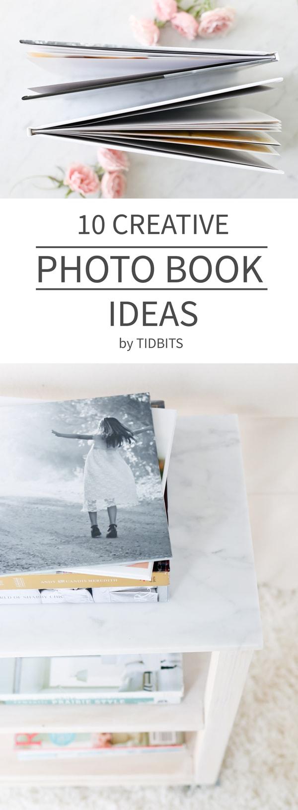 10 creative photo book ideas tidbits
