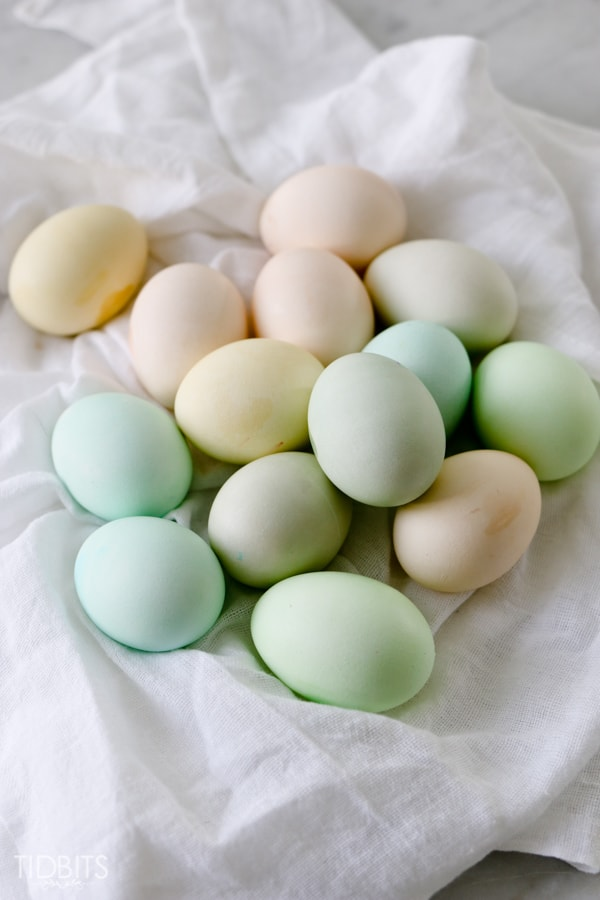 How To Dye Eggs With Food Coloring Tidbits