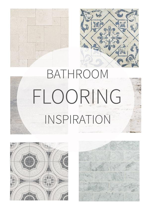 Bathroom Floor Inspiration : Bathroom flooring inspiration tidbits